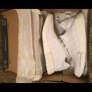 Adidas Men's NMD R1 Japan Triple White Sneaker